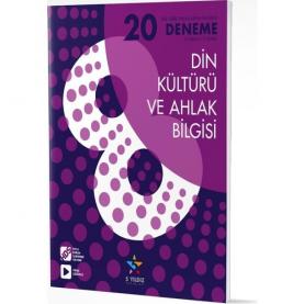 8.SINIF DİN KÜLTÜRÜ VE AHLAK BİLGİSİ - 20'Lİ DENEME