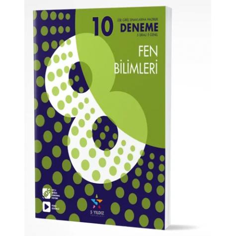 8.SINIF FEN BİLİMLERİ - 10'LU DENEME