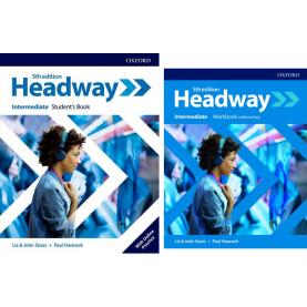 HEADWAY INTERMEDIATE STUDENT'S BOOK + WORKBOOK