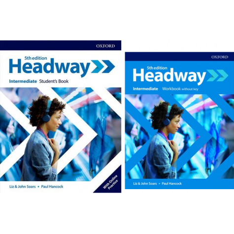 HEADWAY INTERMEDIATE STUDENT'S BOOK + WORKBOOK