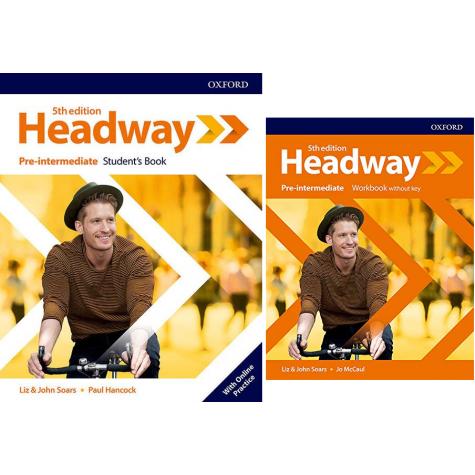 HEADWAY PRE INTERMEDIATE STUDENT'S BOOK + WORKBOOK