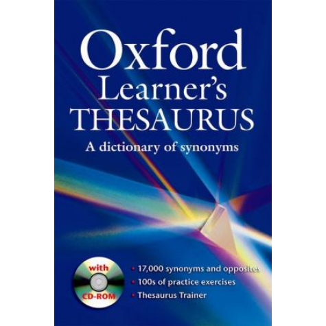 OXFORD LEARNERS THESAURUS DICTIONARY